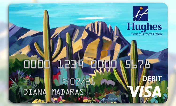 Diana Madaras credit card design