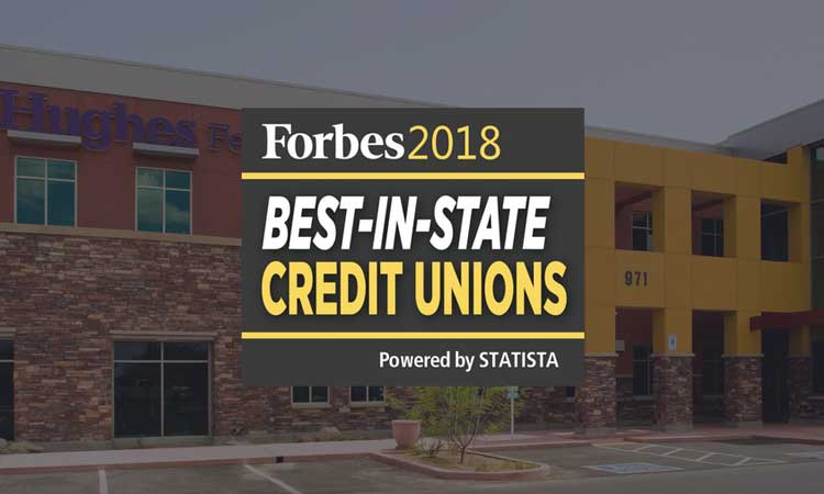 best credit unions by Forbes