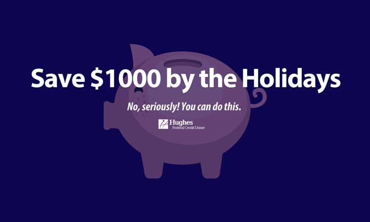 save $1000 by the holidays