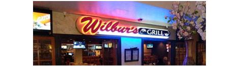 Wilbur's Grill at the Viscount logo
